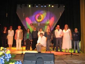 Tarptautiniame socialinės globos įstaigų CHORŲ RINGE 2011-05-26 (Kupiškio kultūros centre)