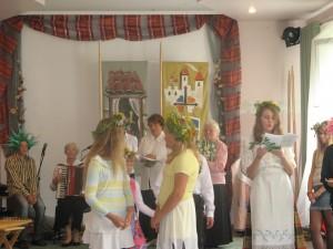 Žolinės šventė su svečiais iš Pušaloto bendruomenės   2011-08-12