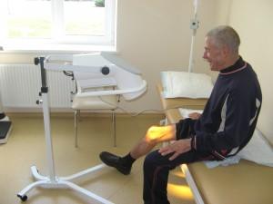 Šviesos terapijos procedūra